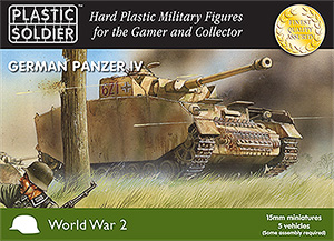 WWII German Panzer IV Tank Easy Assembly