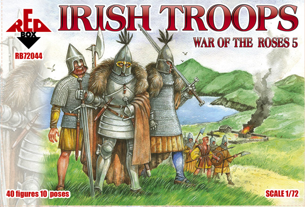 War of the Roses 5 Irish Troops