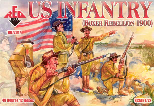 US Infantry, Boxer Rebellion 1900