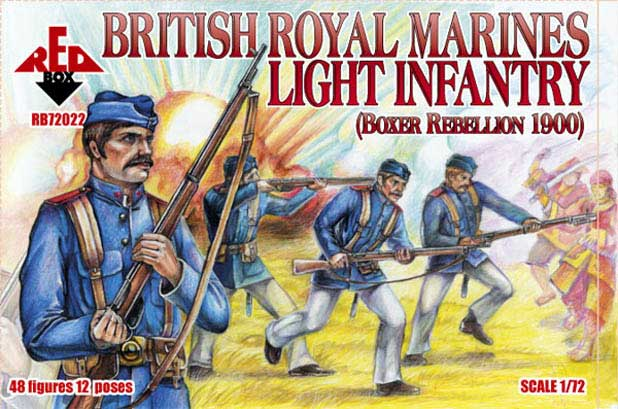 British Royal Marines Light Infantry, Boxer Rebellion 1900