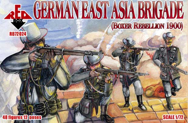 German East Asia Brigade, Boxer Rebellion 1900