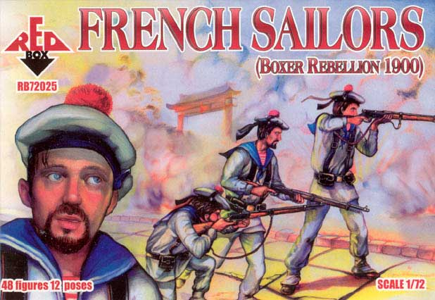 French Sailors, Boxer Rebellion 1900