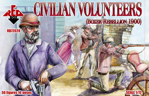 Civilian Volunteers, Boxer Rebellion 1900