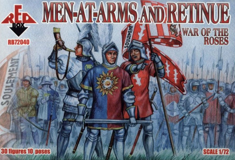 War of the Roses - Men-at-Arms and Retinue