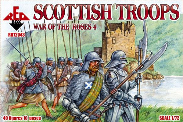 War of the Roses 4 Scottish Troops
