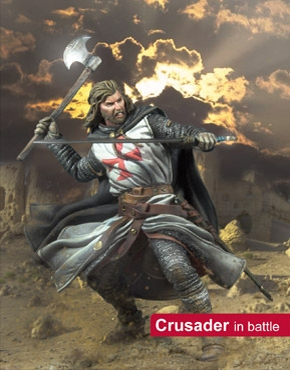Middle Ages: Crusader in Battle
