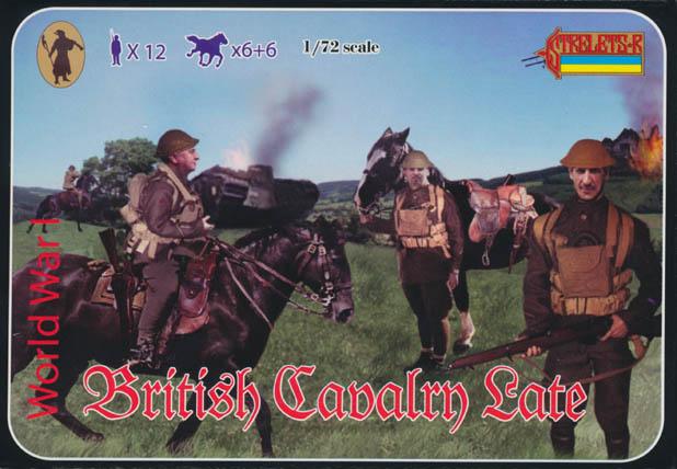 Strelets R - WWI British Cavalry (Late War)