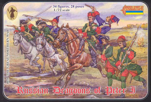 Strelets R - Russian Dragoons of Peter I