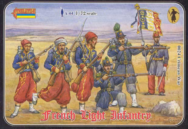 Strelets R - French Light Infantry, Crimean War - ONLY 2 AVAILABLE AT THIS PRICE