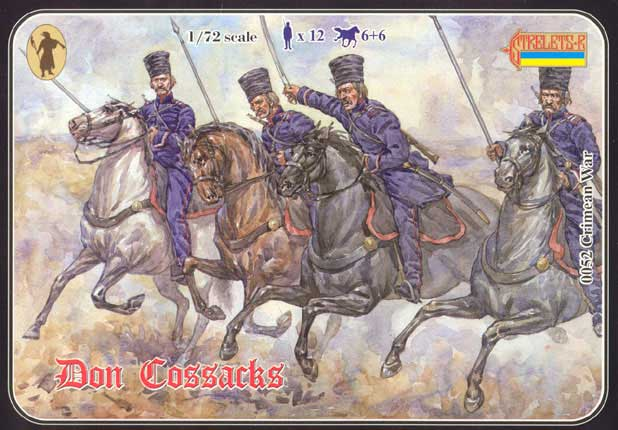 Strelets R - Don Cossacks, Crimean War - ONLY 2 AVAILABLE AT THIS PRICE