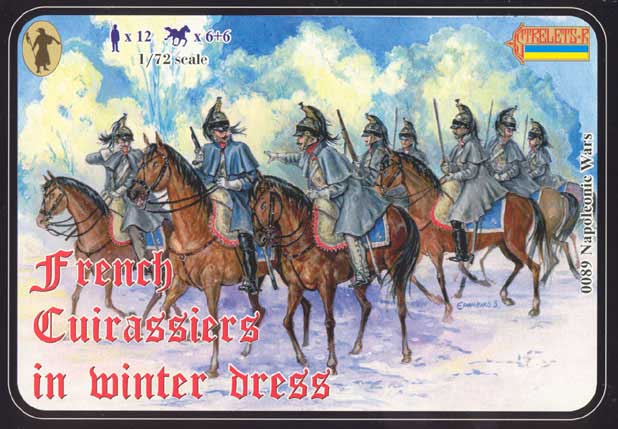 Strelets R -French Cuirassiers (Winter Dress) - Reissue