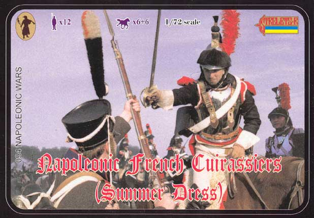 Strelets R -French Cuirassiers in Summer Dress- Reissue