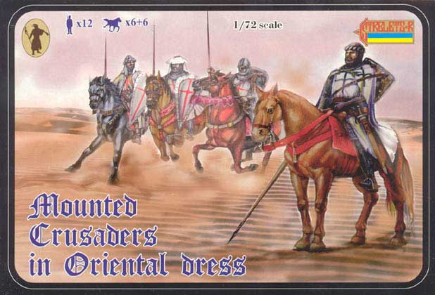Strelets R -Mounted Crusaders in Oriental Dress