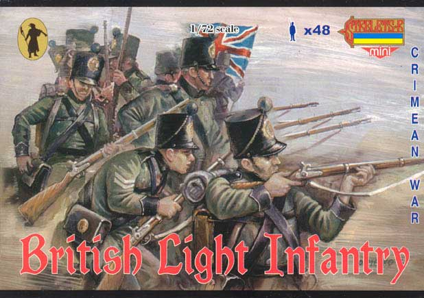 Strelets Mini -British Light Infantry, Crimean War