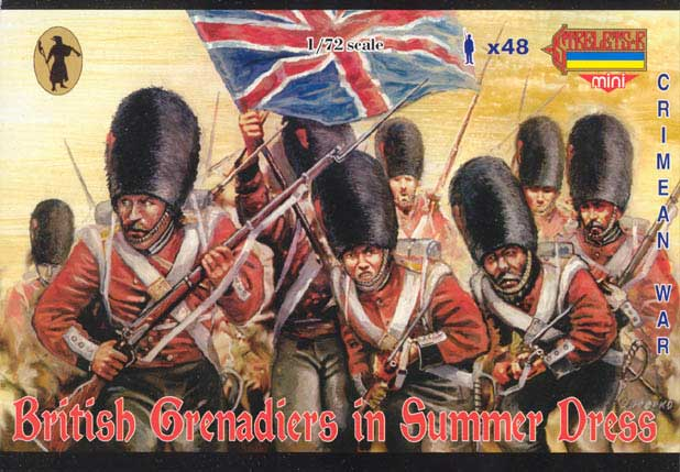 Strelets Mini -British Grenadiers in Summer Dress, Crimean War