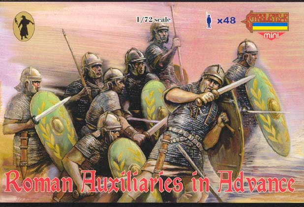 Strelets Mini -Roman Auxiliaries in Advance