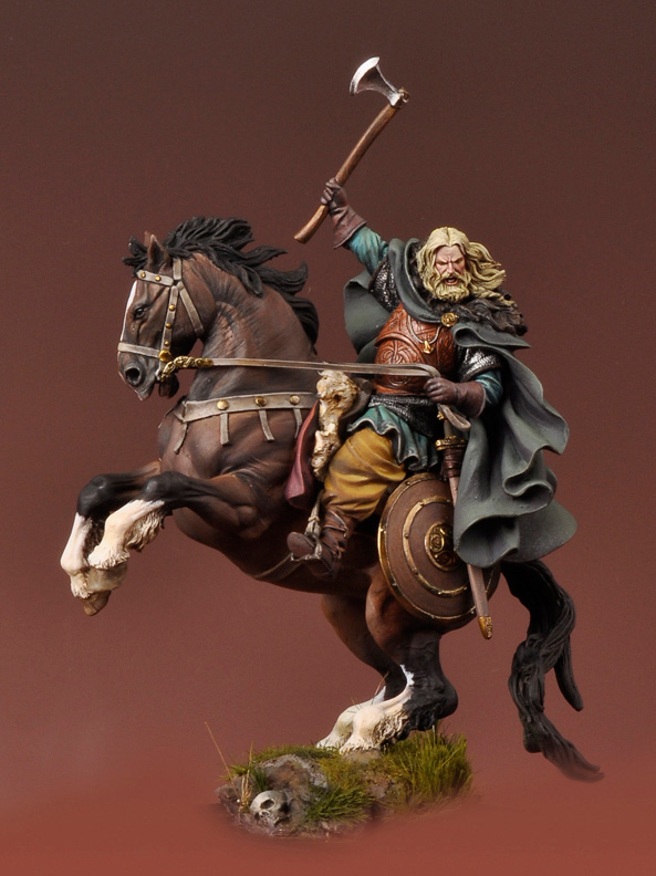 The Vikings: Viking on Horseback 850 A.D.