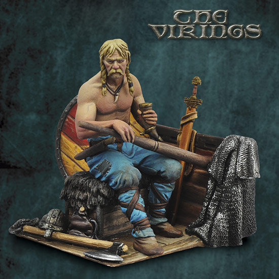 The Vikings: Viking Oarsman
