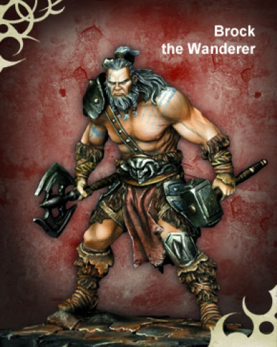 Scale World Fantasy: Brock the Wanderer