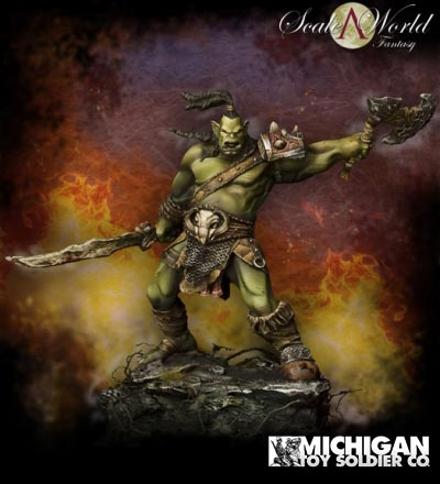 Scale World Fantasy: Shargh Orc Fury