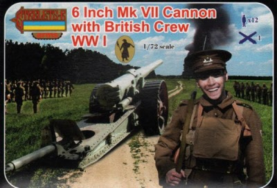 Strelets Arms - WWI 8 Inch Gun Mk VII with British Crew