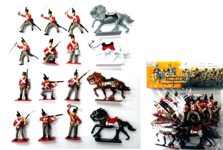 Napoleonic British Infantry Bagged Set