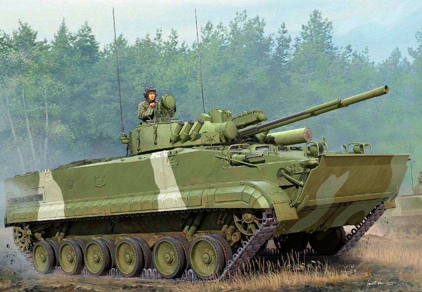 Modern Russian BMP3 Infantry Fighting Vehicle