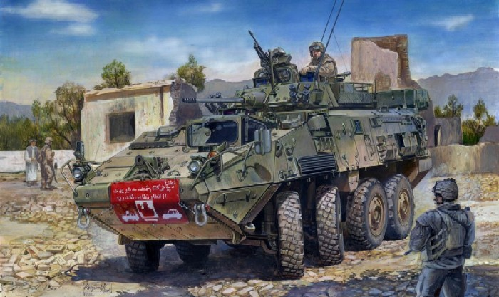 LAV-III 8x8 Kodiak Light Armored Vehicle