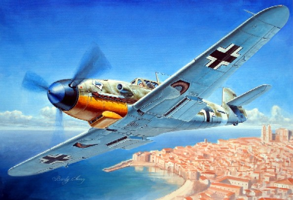 Messerschmitt Bf109F4 German Fighter