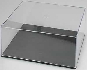 Display Case- 12 1/2 L x 10 7/8 W x 5 3/8 H