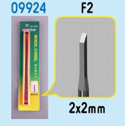 Model Micro Chisel: 2mm x 2mm Square Chisel Tip