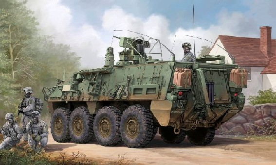 Modern US M1135 Stryker Nuclear Biological Chemical Recon Vehicle (NBCRV)