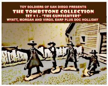 Tombstone Set 1: The Gunfighters- The Earps and Holliday
