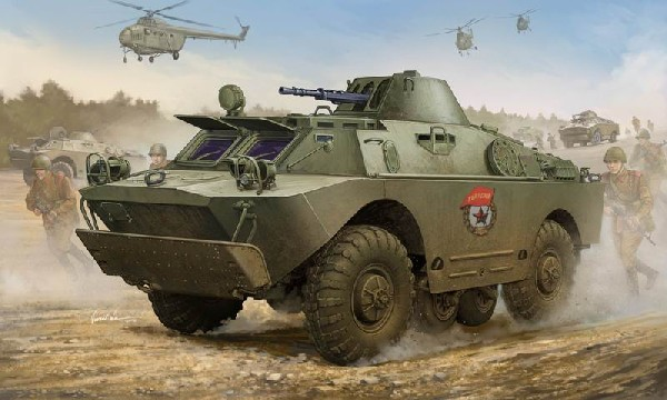 Russian BRDM2 Amphibious Armored Patrol Car Early Version