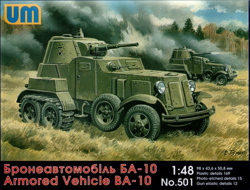 WWII BA10 Russian Armored Vehicle