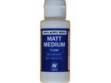Vallejo Matte Medium 60ml. Bottle