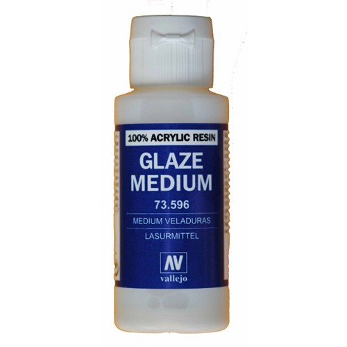 Vallejo Glaze Medium 60ml. Bottle