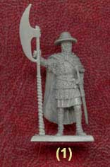 Teutonic Sergeant with Great Axe