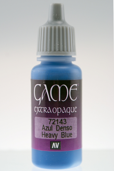 Game Color Extra Opaque Heavy Blue