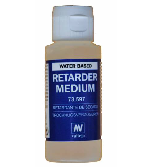 Vallejo Drying Retarder 60ml Bottle