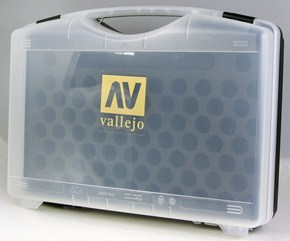 Vallejo Empty Paint Carrying Case