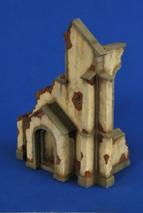 Ruined Church Corner Building