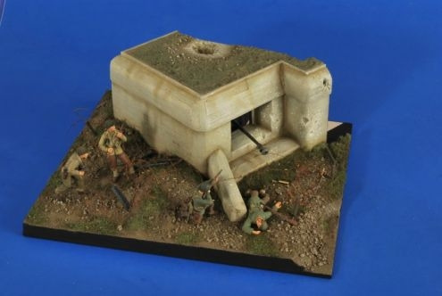 World War II German Bunker Gun Section