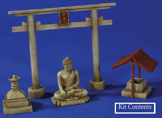 Japanese Shrine, Pacific War