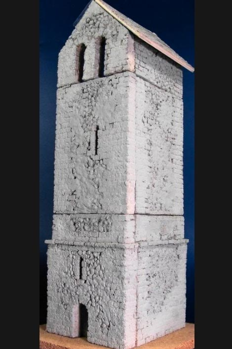 Medieval Bell Tower - ONLY 1 AVAILABLE AT THIS PRICE