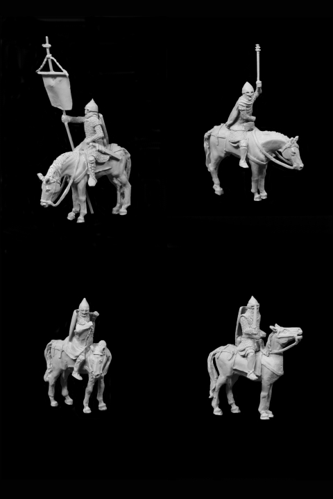Russian Medieval Cavalry Set I