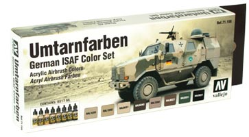 Vallejo - Model Air - German ISAF Color Set - ONLY 1 AVAILABLE AT THIS PRICE