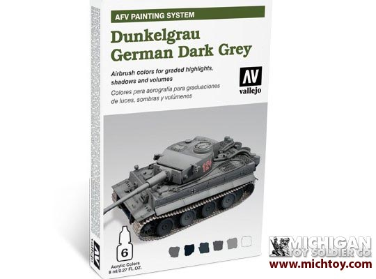 Vallejo AFV Armour Painting System: AFV German Dark Grey (Dunkelgrau)