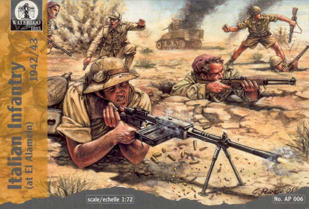 WWII Italian Infantry at El Alamein