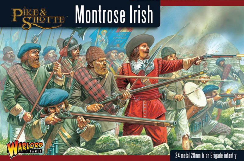 English Civil War: Montrose Irish (24)